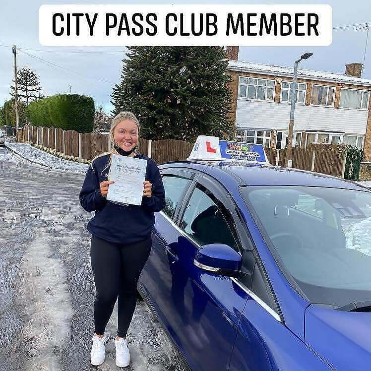 driving lesson, City Pass Club with City Drive School! // Dec 2020